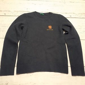 Benetton Rugby Wool Sweater Italy 3XL Kids